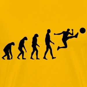Evolution Soccer T-shirts - Herre premium T-shirt
