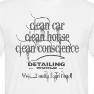 Design ~ Detailing World 'Clean Car...' T-Shirt