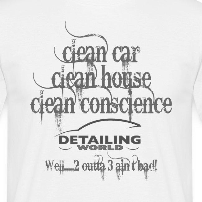 Detailing World 'Clean Car...' T-Shirt