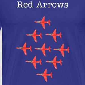 Red Arrows Hawk Formation t-shirt - Men's Premium T-Shirt