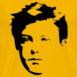 yellow Rimbaud - Men's Premium T-Shirt
