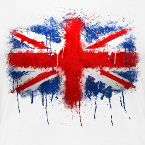 Union Jack - Graffiti - Women's Premium T-Shirt