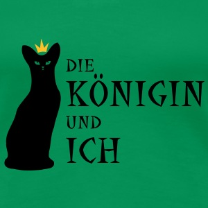 koenigin T-Shirts - Frauen Premium T-Shirt