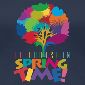 Flourish Tree Girlieshirt - Frauen Premium T-Shirt