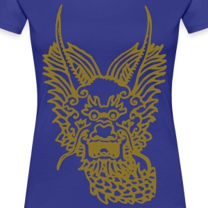 DRAGON OF WATER - T-shirt Premium Femme