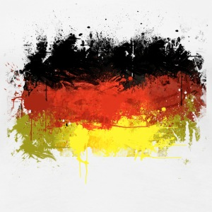German Flag Graffiti - Women's - Women's Premium T-Shirt