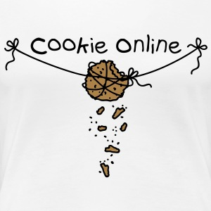 Cookie online T-shirts - Dame premium T-shirt
