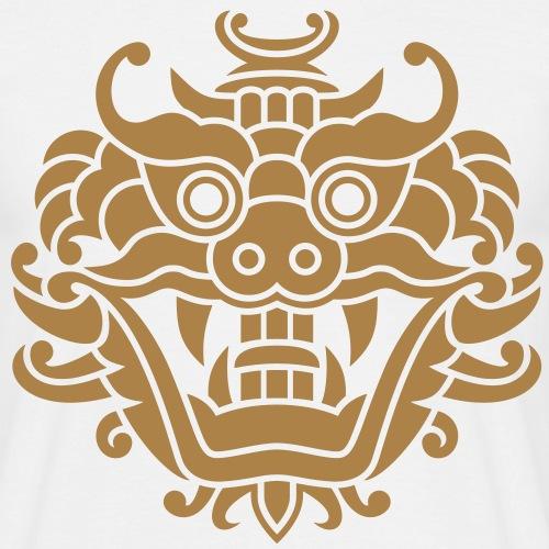 Asiatischer Drachenkopf