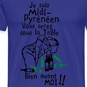 midi pyreneen bourrer saoul avant moi Tee shirts - T-shirt Premium Homme