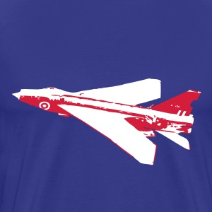 F1 Lightning Fighter Jet T-Shirts - Men's Premium T-Shirt