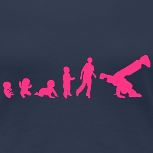 evolution homme sport breakdance hiphop6 Tee shirts - T-shirt Premium Femme