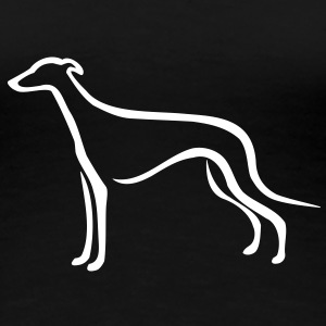 Greyhound T-Shirts - Frauen Premium T-Shirt