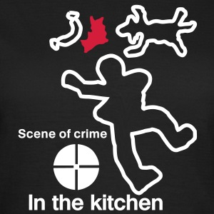 scene of crime T-Shirts - Women's T-Shirt