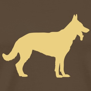 Deutscher Schäferhund - German Shepherd - Dog T-Shirts - Men's Premium T-Shirt