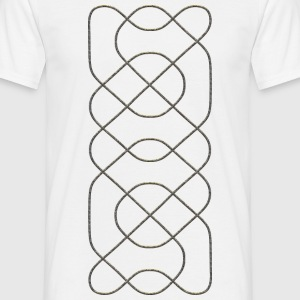 CELTIC KNOT - metal look | unisex shirt - Männer T-Shirt