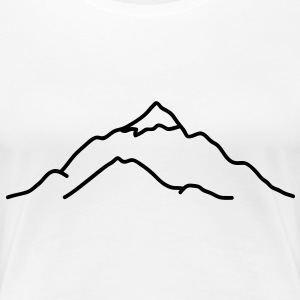 mountain T-Shirts - Women's Premium T-Shirt