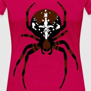 Have spider T-shirts - Dame premium T-shirt