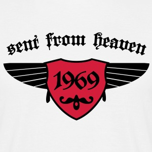 sent from heaven 1969 T-Shirts - Männer T-Shirt