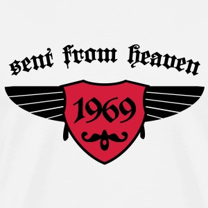 sent from heaven 1969 T-Shirts - Männer Premium T-Shirt