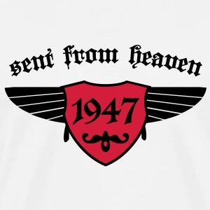 sent from heaven 1947 T-Shirts - Männer Premium T-Shirt