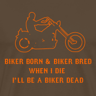 Design ~ Born Biker T-Shirt