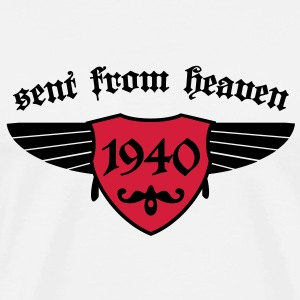 sent from heaven 1940 T-Shirts - Männer Premium T-Shirt