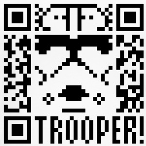QR Code Trooper T-Shirts - Frauen Premium T-Shirt