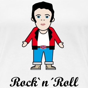 Rock`n´Roll T-Shirts - Frauen Premium T-Shirt