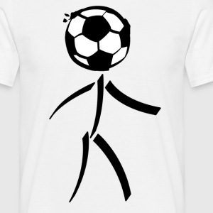 Football stick figure - T-shirt Homme