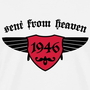 sent from heaven 1946 T-Shirts - Männer Premium T-Shirt