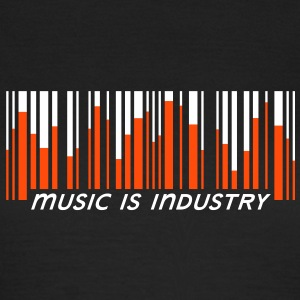 Music is industry Tee shirts - T-shirt Femme