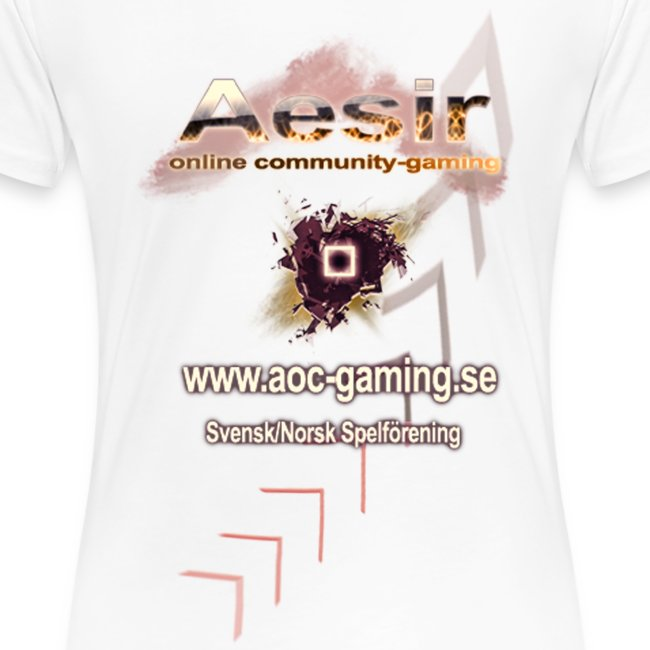 AOC-Gaming T-shirt DAM Vit