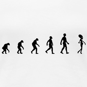 alien evolution T-shirts - Dame premium T-shirt