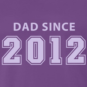 DAD SINCE 12 T-Shirt FL - Men's Premium T-Shirt
