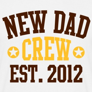 NEW DAD CREW EST 12 T-Shirt 2C BYK - T-skjorte for menn