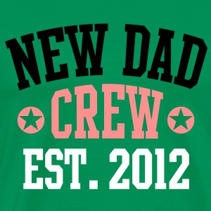 NEW DAD CREW EST 12 T-Shirt BPWO - Premium T-skjorte for menn