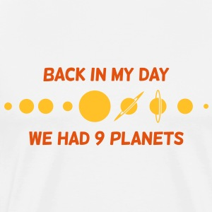 Back In My Day 1 (2c)++ T-shirts - Herre premium T-shirt