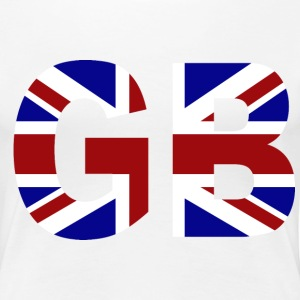 GB Union Jack T-Shirts - Women's Premium T-Shirt
