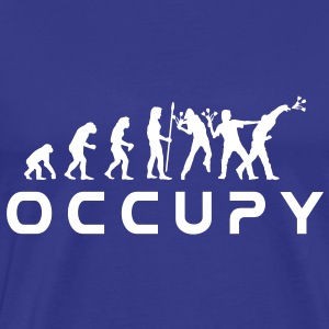 evolution_occupy Tee shirts - T-shirt Premium Homme