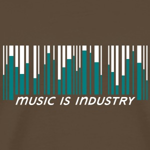Music is industry T-Shirts - Men's Premium T-Shirt