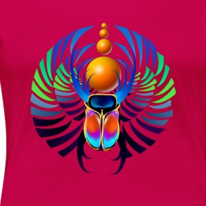Hot Scarab - Frauen Premium T-Shirt