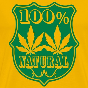 100% natural T-shirts - Mannen Premium T-shirt