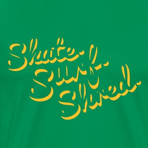 Skate Surf Shred 3D T-Shirts - Men's Premium T-Shirt