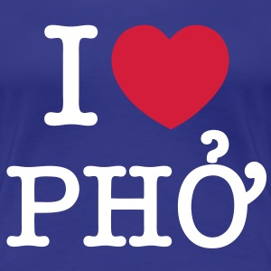 I Heart (Love) Pho - Women's Premium T-Shirt
