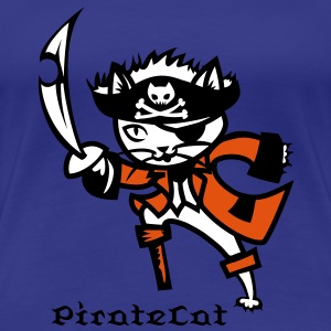 PirateCat - Women's Premium T-Shirt
