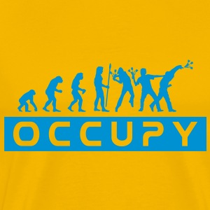 evolution_occupy T-skjorter - Premium T-skjorte for menn