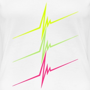 neon_pulse T-Shirts - Frauen Premium T-Shirt