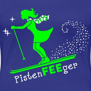 Pisten-FEE-ger T-Shirts - Frauen Premium T-Shirt