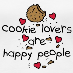 cookies lovers are happy people Camisetas