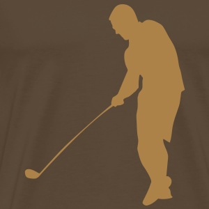 Golf T-shirt - Herre premium T-shirt